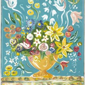 Fono Botanical Teal by
