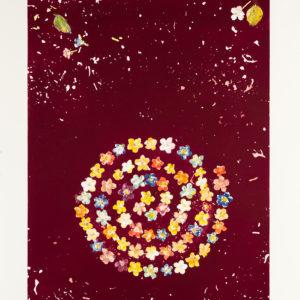 Blossom Swirl Burgundy by