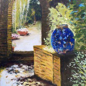 Filoli Garden Gate by