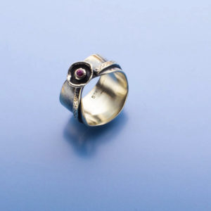 Fancy Pink Sapphire Ring by