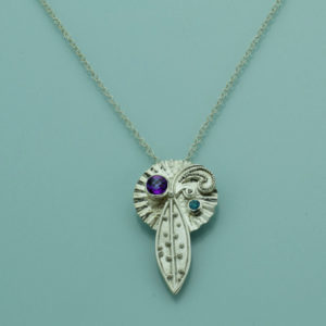 Le Plume Granulated Pendant by