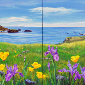 Bloom with a View (Diptych) by