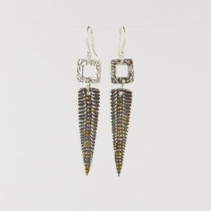 Fine Silver Earrings by