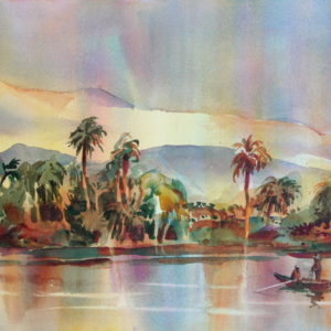 Fishermen on the Nile by
