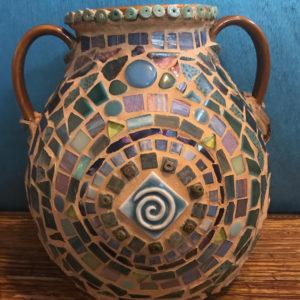 Mosaic Pot by