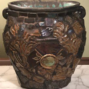 small zen pot by