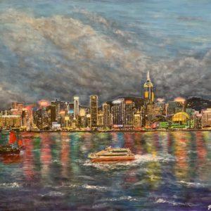 Hong Kong Harbor by