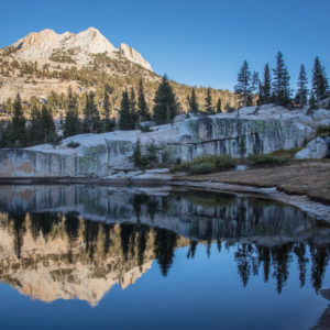 Cathedral Lake Reflections