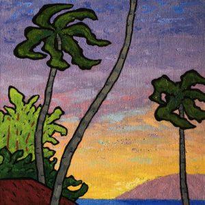 Maui Sunset by