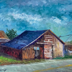 Remembering Andreotti's Barn by