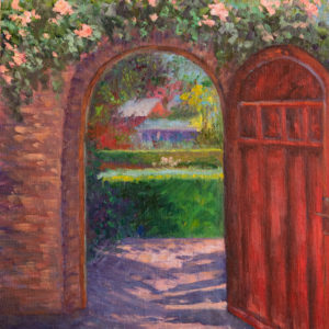 Through the Door at Filoli by