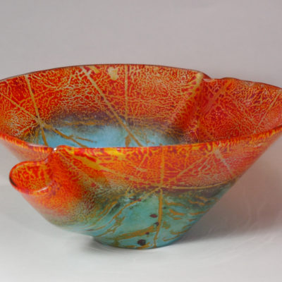 Coral Beach Bowl by Barbara Brauke