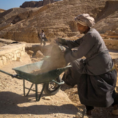 Working Valley of the Kings by