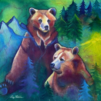 Twin Grizzlies by