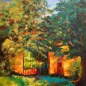 Gate in Luca by
