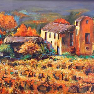 Provence in the Fall by