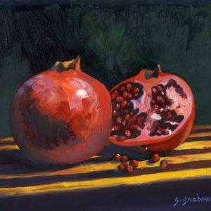 Pomegranates by