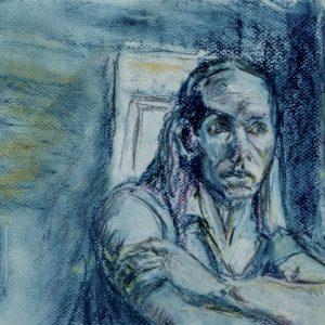 Blue Window by