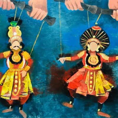 Yakshagana puppetry by