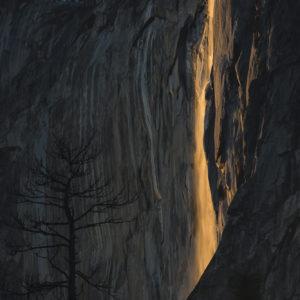 Golden Firefall - Horsetaiil Fall | Yosemite NP by