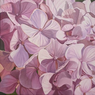#35 Pink Hydrangea: Thirst for Life by
