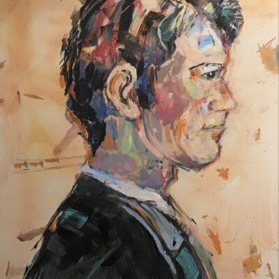 Lynn Rogers Painting