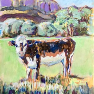 Curious Cow by