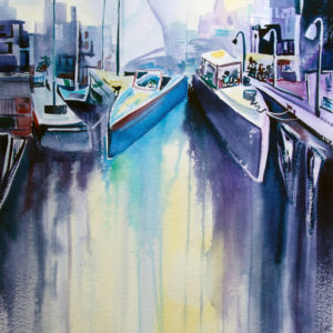 Boats in the City by