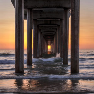 Peering Through the Pier by