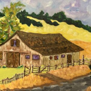 Henri and Paul's Barn by