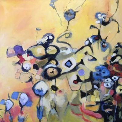Wildflowers IV by Kevyn Warnock