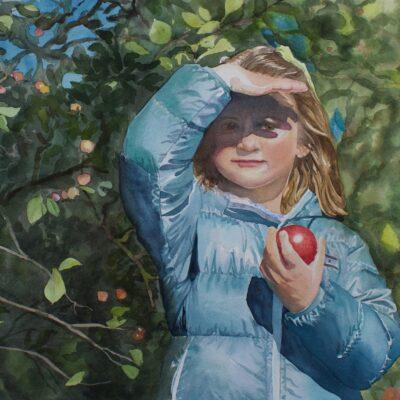 The Apple Picker by Margaret Washington