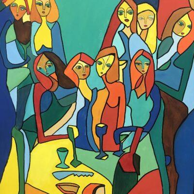 Girls Night Out by Greta Waterman