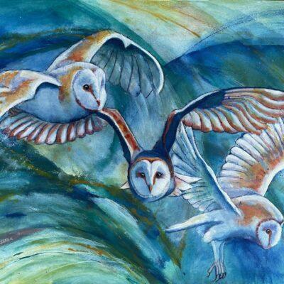 Amy Rattner Painting