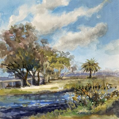 Annie Haines Painting