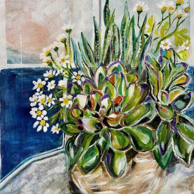 Happy Succulent Sunday by Noemi Manero