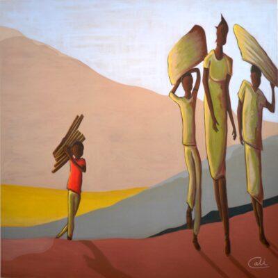 Alongside Poverty by Jorge Calderon