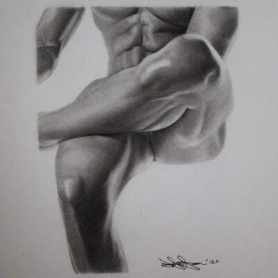Male torso by Jason Morning Star