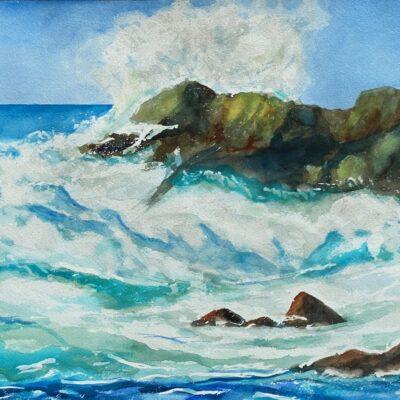 Waves by Daniele Cuzin