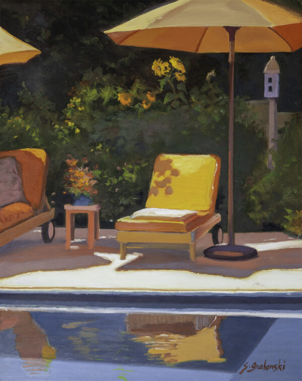 Poolside by Susan Grabowski