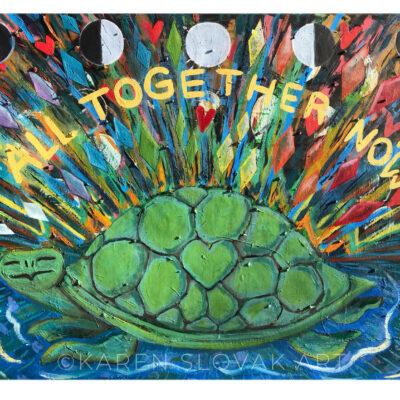 Radiant Turtle by Karen Slovak