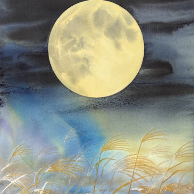 Harvest Moon by Mami Weber